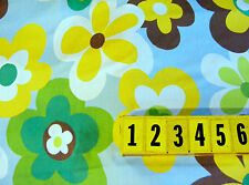 Cotton Fabric 5 Colour Abstract Floral Print - 150cm Wide - by DCF