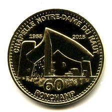 70 RONCHAMP Chapelle Notre-Dame du Haut 2, 60 ans, 2015, Monnaie de Paris