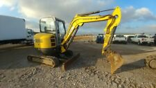 2012 Wacker Neuson 38 Z3 Excavator 1416 hrs Zero Tail Swing Used