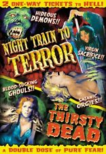 Night Train To Terror (1985) / The Thirsty Dead (1974) NEW DVD