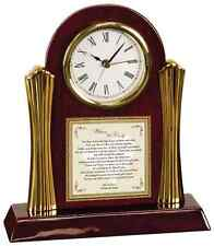 Wedding Gift to Daughter Bride Son Groom from Parents Clock Personalized Mom Dad