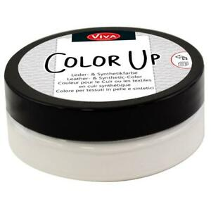 """Viva Decor """"Color Up"""" Leather & Synthetic Fabric Paint - Choose from 9 Colours"""