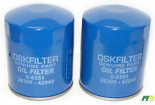 2 units OSK Oil Filter suit Z630 for Hyundai Grand Carnival Diesel Kia