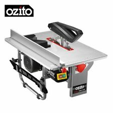 "Portable Table Saw Freestanding Bench Saw 200mm (8"") With Extractor by OZITO"