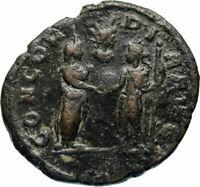 AURELIAN 274AD Rome Authentic Ancient RARE AS DENOMINATION Roman Coin SOL i46653