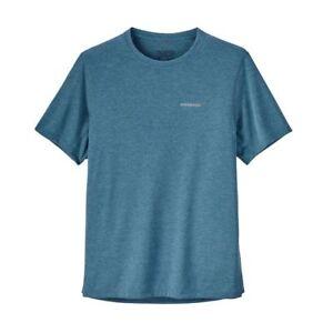 Patagonia Men's Short-Sleeved Nine Trails Shirt Big Sur Blue Small item #23470
