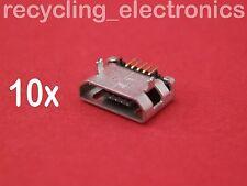 10x Mikro USB Laden Port DC Power Sockel 5-polig für Fix Handys V.5