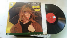 "FRANCOISE HARDY the ""Yeh-Yeh"" Girl From Paris! FCL 4208 LP Vinyl orig 1966 MONO!"