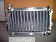 Aluminum Radiator for Mazda R100/FAMILIA 1000/1200/1300 10A/12A/Wankel MT 69-73