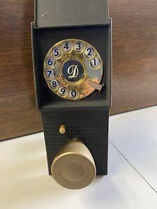 Vintage  Dialoc Rotary Enabled Security Door Knob Lock MCM USA Made Retro