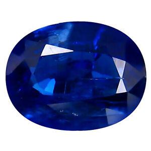 2.00 ct 100% NATURAL DEEP BLUE COLOR KYANITE GEMSTONE NICE CUT -K
