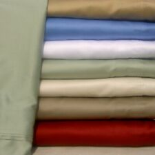 1000 TC Egyptian Cotton 1Pc Fitted Sheet Us Queen All Color Solid /Striped