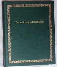 LAS NOTICIAS Y LA INFORMACIÓN - BIBLIOTECA SALVAT DE GRANDES TEMAS - Nº 9 - 1975