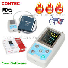 CONTEC Ambulatory Blood Pressure Monitor+USB Software 24h NIBP Holter ABPM50