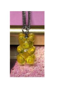 Haribo Shape Pendant Surgical Steel Chain Necklace Unisex 40~50CM 8 Colors
