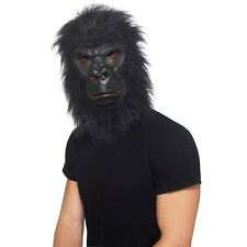 Men's Unisex Foam Latex Gorilla Over Head Fancy Dress Mask King Kong Hen Stag Do