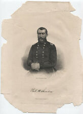 Portrait Union General Philip H. Sheridan, Lithograph From Brady Photo.