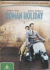 ROMAN HOLIDAY -  Gregory Peck, Audrey Hepburn, Eddie Albert  - DVD