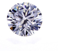 1/2 CT L /VS2 Natural Loose Diamond GIA Certified Round Cut Brilliant 5mm
