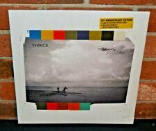 "THRICE - Beggars, Ltd 10th Anni STRIPED COLORED VINYL LP + Bonus 7"" & DL New!"