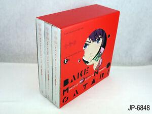 Bakemonogatari Key Animation Note Monogatari Japanese Artbook Set Box US Seller