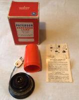 Photographic Paterson Darkroom Orange Safelight. Working. Vintage.  Retro.