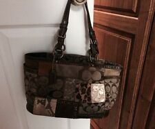 COACH 11495 GALLERY PATCHWORK TOTE BAG PURSE