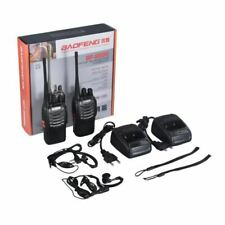 Baofeng bf-888s Walkie Talkie 16CH Signal Band UHF 400-470 MHz Rechargeable Two