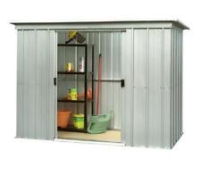 "359 Yardmaster Pent Metal Garden Shed - Maximum External Size 7'10"" W x 3'11"" D"