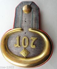 ORIGINALE Sassonia Epaulette superiore tenente nel IR 107 Lipsia
