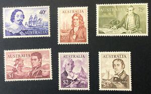 Australia Elizabeth 1966 Part Set Definitives  Lightly Mounted C/V £11.30 2021