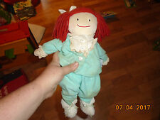 Vtg 1990s Madeline Doll An Eden Gift Plush Doll Bedtime Outfit Pajamas Nightgown