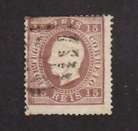 Portugal stamp # 38, used, SCV $29.00