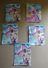 Jojo Siwa Super Star Charms Lot Of 5- New In Package contains a Surprise Charm