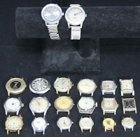 (20) Mens Watch Lot for Parts/Repair - Timex - Elgin - Vintage - Lot #1