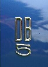 Aston Martin DB5 & DB6 'B' Badge - Rear - Chrome