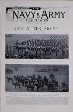 1897 BOER WAR GRAND CITIZEN ARMY VOLUNTEERS VARIOUS REGIMENTS SUSSEX LONDON &C