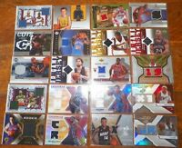 20 Assorted Jersey Insert Basketball Cards    SSS