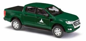 HO 1:87 Busch # 52813 - 2016 Ford Ranger Crew Cab Pickup Truck Forest Service Gr