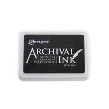 Ranger Archival Ink #0 Pad | Jet Black