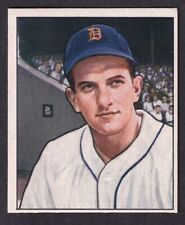 1950 BOWMAN JOHNNY GROTH CARD NO:243 NEAR MINT CONDITION