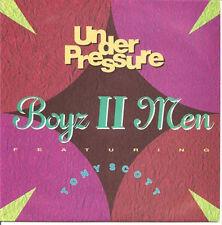 "BOYZ II MEN - Under Pressure  (ps) 7"""
