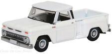 1965 Chevrolet White Stepside Pickup Truck Die-Cast Metal 1/87 HO Oxford 87CP650