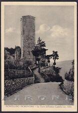 FIRENZE MONTELUPO FIORENTINO 04 CASTELLO Cartolina viaggiata 1958 Ed. ALTEROCCA