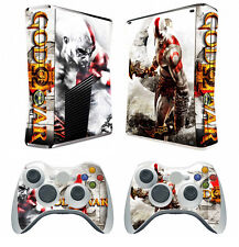 GOW 210 Vinyl Decal Cover Skin Sticker for Xbox360 slim and 2 controller skins