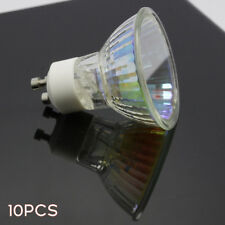 10pack 75 Watt GU10 Halogen Bulb 120 Volt 75w GU10 Halogen Light Bulb