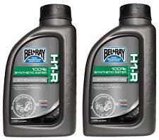 Bel-Ray H1-R vollsynthetisches Racing 2-Takt-Öl  2 Liter für On-Road / Off-Road