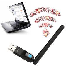 300 Mbps USB Wireless Dongle WiFi Network LAN Card 802.11n/g/b + Antenna!SU