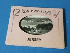 Set of 12 Real Photo Snaps in of Jersey by Radermacher, Aldous & Co. DA1