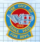 Fire Patch - CITY OF EAGLE PASS